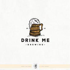 Design by Georgia Stan Brewery Logos, Drink Me, Logo Design Inspiration, Logo Design Contest, Brewing, Georgia, Beer, Create, Root Beer