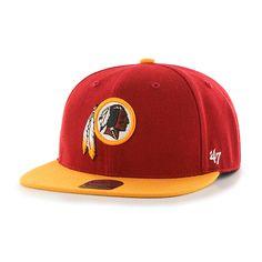 8ecade9bb4ee3 Washington Redskins Lil Shot Two Tone Captain Razor Red 47 Brand YOUTH Hat