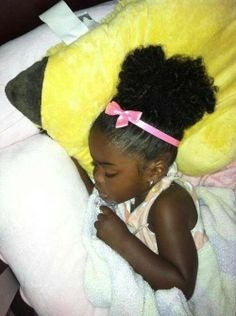 chocolate baby...natural hair...I Love it! She is beautiful