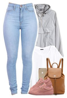 """draft"" by daisym0nste ❤ liked on Polyvore featuring H&M and Tory Burch"