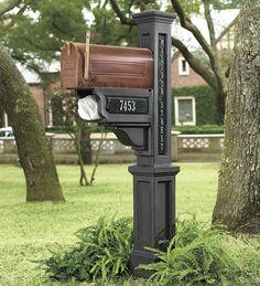 Vinyl Mailbox Post | Outdoor Organization