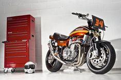 Let the good times roll. Racefit Kawasaki Z1 #Kawasaki