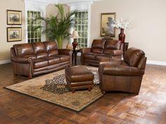 Elegant Living Room Leather Furniture Trends