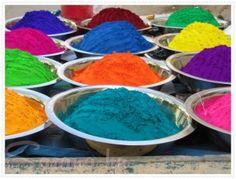 Holi a színek ünnepe…is