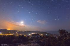 Nightscape above Saint Simeon, Corfu by Bill Metallinos on 500px