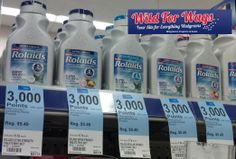 Walgreens: As low as ONLY $.87 for Rolaid's Products (through 5/3!) - http://www.couponaholic.net/2014/05/walgreens-as-low-as-only-87-for-rolaids-products-through-53/