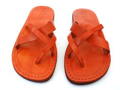 SALE ! New Leather Sandals XSTRAP Women's Shoes Thongs Flip Flops Flats Slides Slippers Biblical Bridal Wedding Colored Footwear Designer by Sandalimshop on Etsy