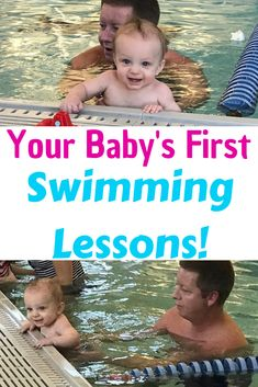 Your baby's first swimming lessons will be a fun and exciting way to teach your little one how to be safe in the water! Baby Swimming Lessons, Swimming Classes, Swim Lessons, Toddler Swimming, Swimming Drills, Swimming Gear, Newborn Schedule, Baby Schedule, Teach Baby To Swim