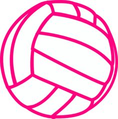 free printable volleyball clip art shape collage shapes rh pinterest com