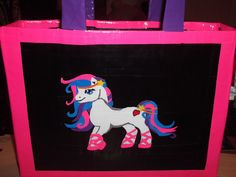 Adorable My Little Pony Duck Tape Bag - Design Courtesy of Dolldivine.