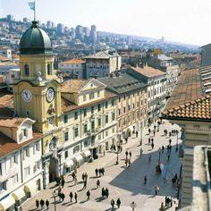 Rijeka, Croatia | Fashion's Most Wanted ---- http://hr.wikipedia.org/wiki/Rijeka#Korzo_i_Stari_grad