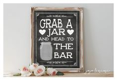 Instant 'Grab a Jar and Head to the Bar' Printable by JoJoMiMi