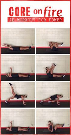 AB workout to challenge your core - this exercise routine will burn those abdominal areas top to bottom!