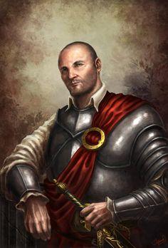 The Distinguished Mercenary by ARTOFJUSTAMAN.deviantart.com on @deviantART
