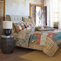 Jaipur Quilt and Sham   The Company Store