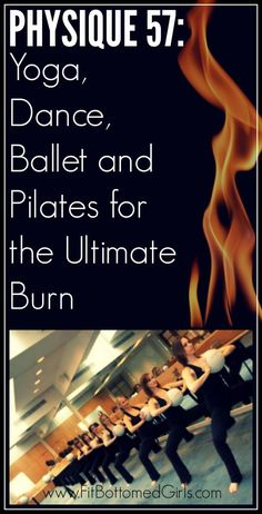 Physique 57 combines principles of yoga, dance, ballet and Pilates for the ultimate burn.