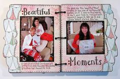 Today, I am sharing my Christmas Mini Album that I made for Magenta in January. While I used the cute bracket December Daily Album. Christmas Mini Albums, Christmas Minis, Favorite Quotes, My Favorite Things, December Daily, Magenta, Stuff To Do, Give It To Me, Scrap
