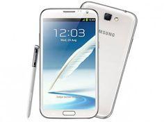 Smartphone 3G Samsung Galaxy Note II Android 4.1 - Desbl TIM Câmera 8MP+1.9MP Frontal Tela 5.5 Wi-Fi