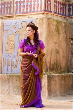 "Polly Walker - ""Rome""  This show had beautiful costumes."