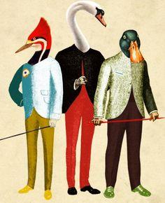 hipster birds, Valero Doval