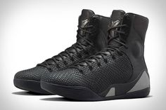 None of Kobe Bryant's nine previous shoes have taken his nickname quite as literally as the Kobe 9 KRM EXT Black Mamba.