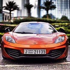 McLaren- just your average car in Dubai