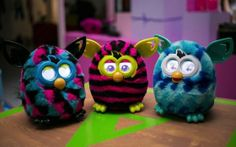New Furby toys for the Christmas season!
