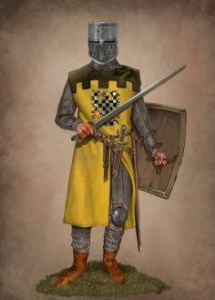 Bohemian Knight by JLazarusEB on DeviantArt Knights Hospitaller, Knights Templar, Medieval Knight, Medieval Fantasy, Crusader Knight, High Middle Ages, Gn, Holy Roman Empire, Templer