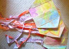 Tutorial : Simple Homemade Kite