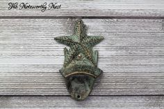 A personal favorite from my Etsy shop https://www.etsy.com/listing/203093011/cast-iron-bottle-opener-nautical-bottle