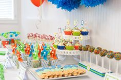 Boy Themed Ice Cream Party! - Kara's Party Ideas - The Place for All Things Party