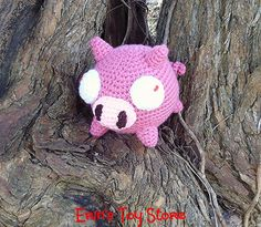 Looking for your next project? You're going to love The Pig A Crochet Pattern by designer ErinsToyStore.
