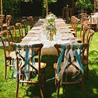 Britany and Brandon infused bird decor into their vintage wedding, held in Sonoma County, California..