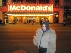 Jen Brill the Furry Ape (who smokes in front of McDonald's)