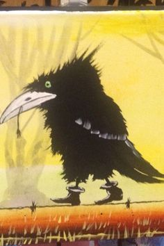 Crow with attitude
