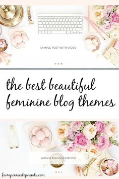 Wistfully beautiful, girly themes for your wordpress.org blog