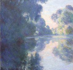 Claude Monet (1840-1926) Matinée sur la Seine (1897) oil on canvas 89.3 x 92.3 cm