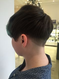 Undercut pixie /cut and styled by me