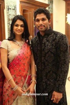 Happy Wedding Anniversary to Allu Arjun and Sneha Garu