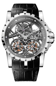 Roger Dubuis Excalibur Skeleton Double Flying Tourbillon (RDDBEX0269) / 28개 한정 / $300,000 (약 3억 3315만₩)