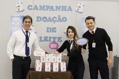 Poupatempo São José do Rio Preto entregou mais de 12 mil litros de leite à crianças carentes.