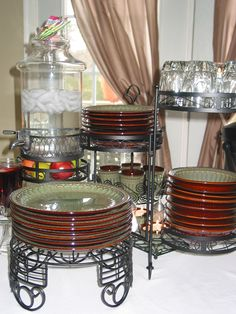 Inexpensive Tiered Serving Trays | Elegant Server from Cheap Plant Stand #1 | Imagine That... Interior ...
