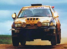 Nissan Sunny GTI-R rally car