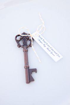 skeleton key bottle openers  Photography by marinkristine.com
