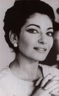 Ok, she's not exactly an actress, but opera counts and I love, love, love the matchless Maria Callas.