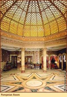 Pompeian Room at Doheny Mansion, Mount St. Mary's College