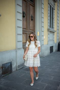 Chicwish Dress, Clare Vivier Clutch (also love this one), Charlotte Olympia Flats (on sale), ...