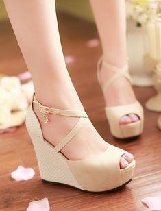 Open toe high heel sandals
