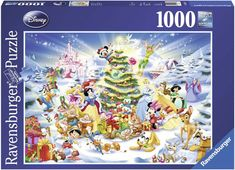 Ravensburger 19287 a Disney Christmas 1000 Piece Jigsaw Puzzle for sale online Christmas Jigsaw Puzzles, Christmas Puzzle, My Christmas List, Disney Christmas, Christmas Eve, Ravensburger Puzzle, Disney Puzzles, Puzzle Shop, Fox Collection