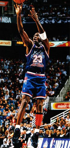 M.J. For Two, '93 All Star Game.